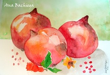 watercolor: my passion! / To me, the most beautiful media...