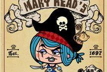Piraten Feest / Leuke ideeën voor een kinderfeestje rond het thema piraat