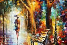 Leonid Afremov / by Brandie Sellers