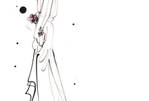 Illustration : Weddings / We love romance, we love love, we love the nuances and style of fashion illustration for weddings.  To see more work by our artists, contact info@traffic-nyc.com / by Traffic_NYC