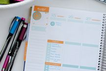 Planner Girl / A planner girl has happy planner!  One that is used to record a well lived life.