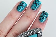 Manicure Madness / Draw inspiration from spring's top trends and try spikes, sparkles, turquoise, and pink or opt for bold prints and unique patterns.