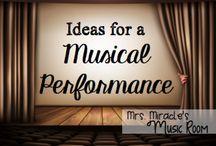 Teach music - concerts
