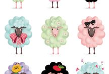 Sheep illustrations