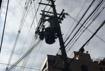 Japanese Power Poles
