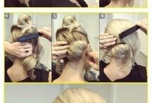 Yksinkertaisia hiuksia