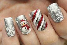 Nägel Weihnachten