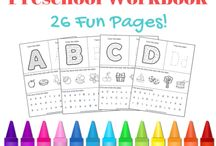 Letter activities and worksheets