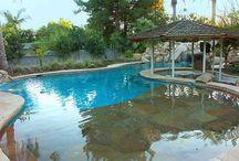 the pool / Swimming Pools.