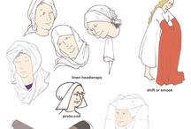 Medieval clothing for women / by Marlow Kelly
