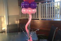 Balloon Centrepieces