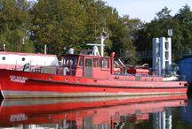 Model Fire Boat Florián