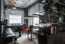 Industrial office design