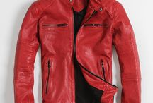 Men's leather apparel