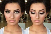 Make-up a účes