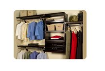 John Louis Home, Woodcrest / JLH 12 inch and 16 inch Deep Woodcrest Organizer: Create your own functional and ATTRACTIVE closet!