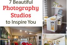 Studio Inspiration / photography studios and prop storage ideas