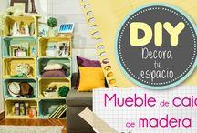 Decoración / Conoce diferentes técnicas y formas de decorar el hogar de una forma divertida, fácil y práctica, también encontrarás muchas manualidades para realizar en casa.