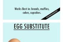 Vegan baking without eggs