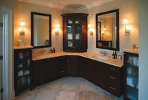 cabinetry and vanity corners