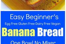 Receitas de pão de banana