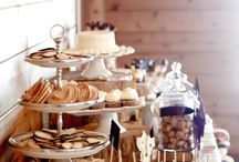 romantic/country bridal shower