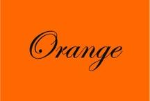 Orange Makes Me Happy...! / by Libby Smith Serkies