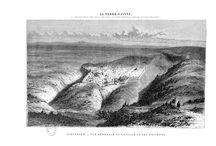 Voyage en Terre-Sainte / 32 gravures c.1860 par Whitehead, Hebert, Pannemaker, Ouartlev d'après des dessins de K. Girardet