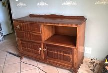 Renovating a buffet with Granny B Chalk paint