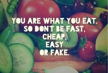 Healthy Motivation / Words to live by that support mindful eating, healthful living and the END of DIEting.  Stop DIEting, start living!