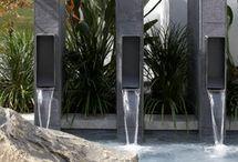 Ландшафт   фонтан