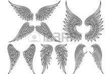 Tatouage aile d'ange