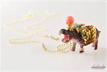 Di Zoo Ultra Boho Necklaces / Welcome to #Didadi jungle!!! #Di_Zoo: νέα σειρά, ultra boho κολιέ με θέμα τα ζώα του δάσους... #Bohemian #Jewelry #Zoo #Love #Didadi © Vicky Lafazani