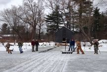 Wayside Events in January / A few shots from our excellent Bourbon Dinner and our annual Ice Harvest