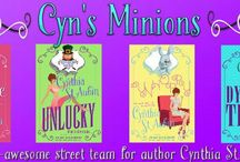 Cynthia St Aubin Books / Cynthia and Unicorns!!!!