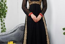 Anarkali suits 3 / Beautiful collection of Georgette, Net, Velvet & Brasso fabric anarkali suit collection