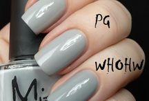 Grey&Black polishes