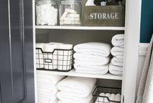 Linen Closet Decor