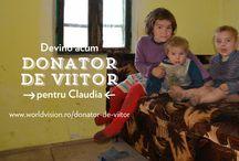 Donator de viitor pentru Claudia