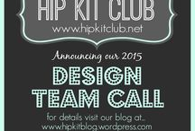 HIP KIT CLUB - 2015 DESIGN TEAM / STAY TUNED FOR OUR 2015 DESIGN TEAM ANNOUNCEMENT!!!