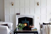 Fireplaces / by Sarah Langtry // Just The Bee's Knees