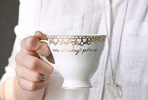 teacups and books