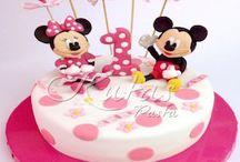 1 Yaş Doğum Günü Pastaları / 1 Yaş Bebek Çocuk Butik / Özel Tasarım Doğum Günü Pastaları