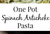 Pasta - Spinach & Artichoke