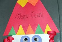 Preschool Shape Crafts / by Christy Price