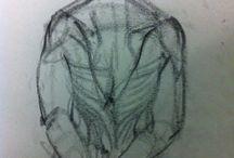 Mine-Life Drawing