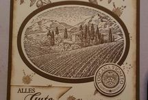 Stampin up tuscan vineyard