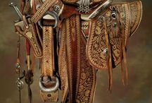 Leather work and tack
