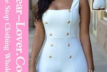Women Polyester Pants Bodycon Jumpsuits tasya clouth