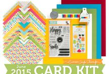 Cards: SSS June 2015 / by Cindi Lynch